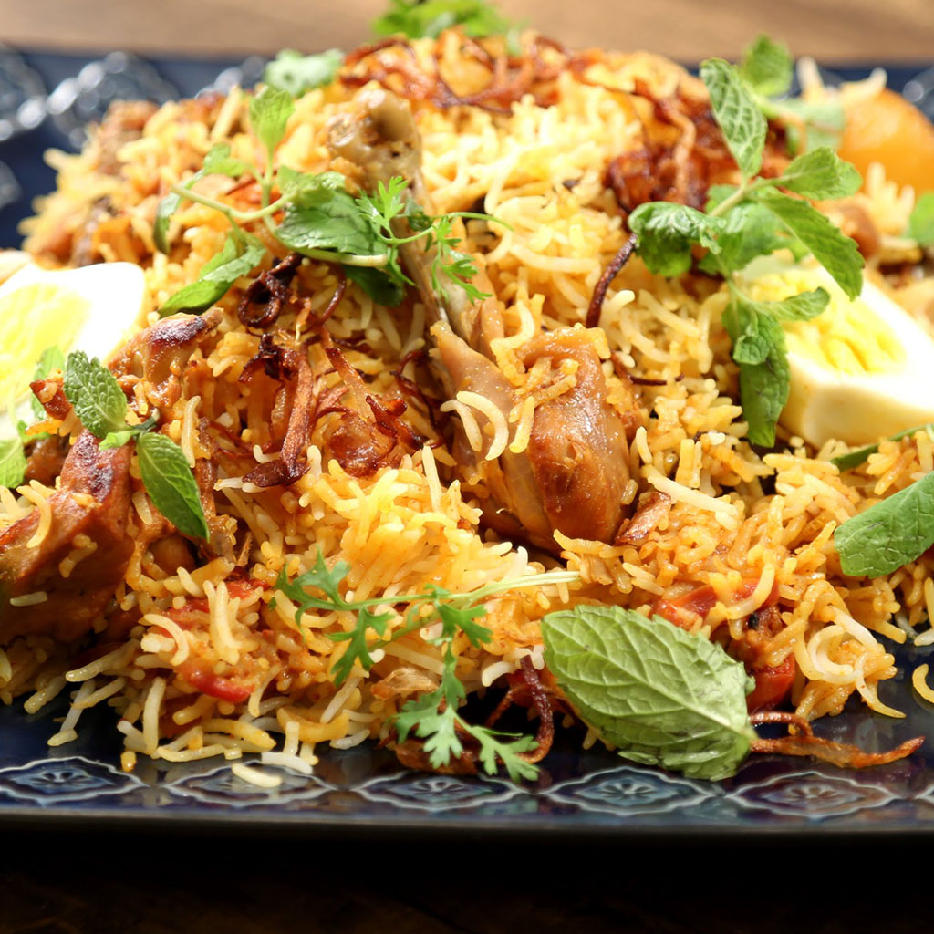chicken-biryani, Indian Oven