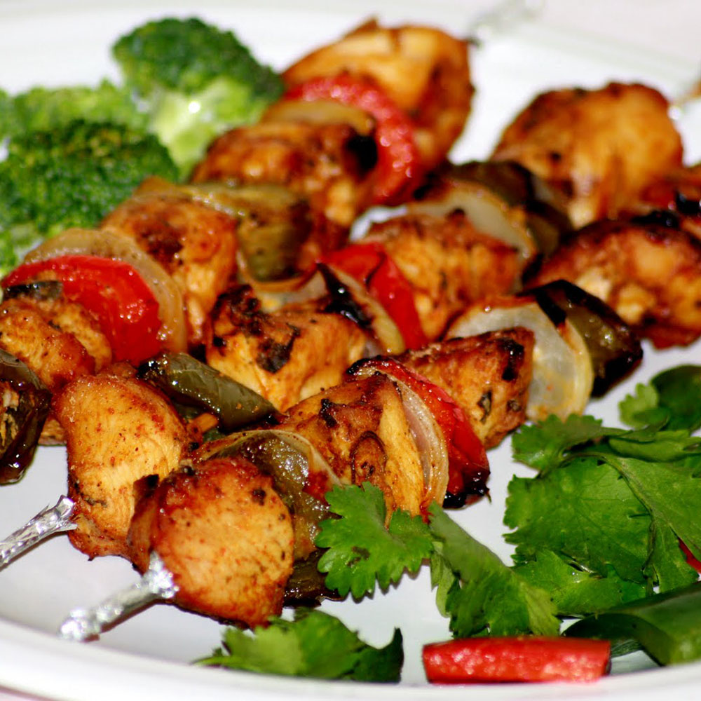 Chicken-Tikka, Indian Oven