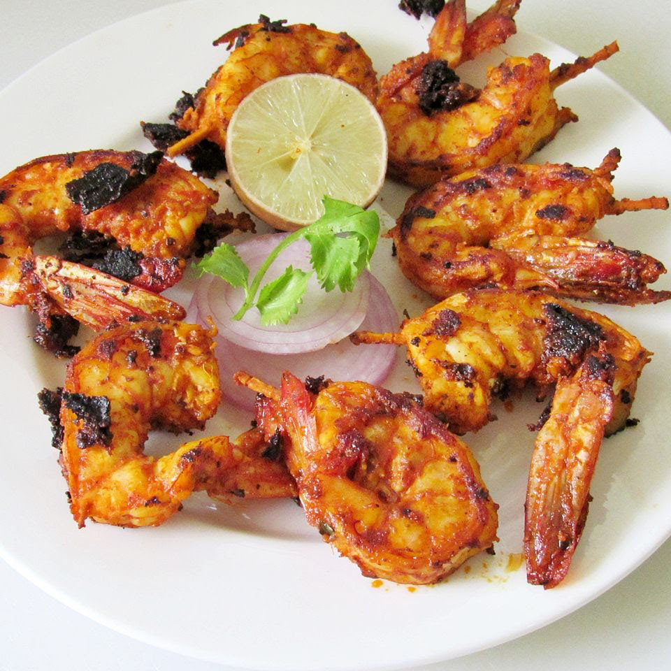Lasooni-Prawn-Tandoori, Indian Oven
