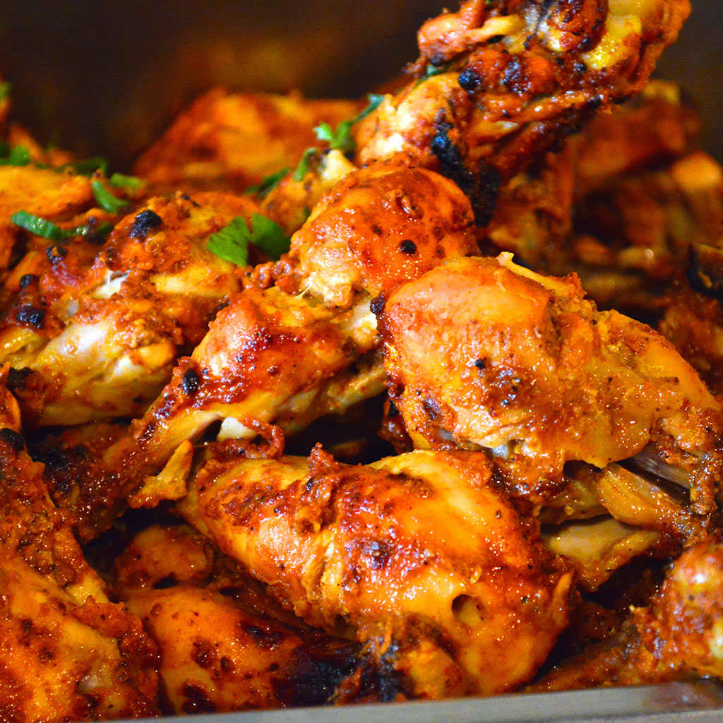 badami-chicken, Indian Oven