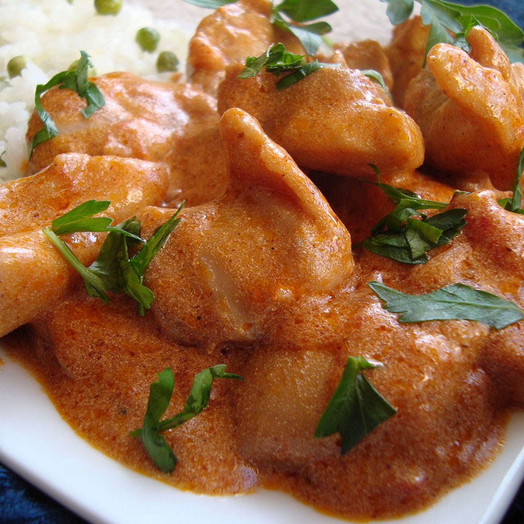 butter chicken, Indian Oven