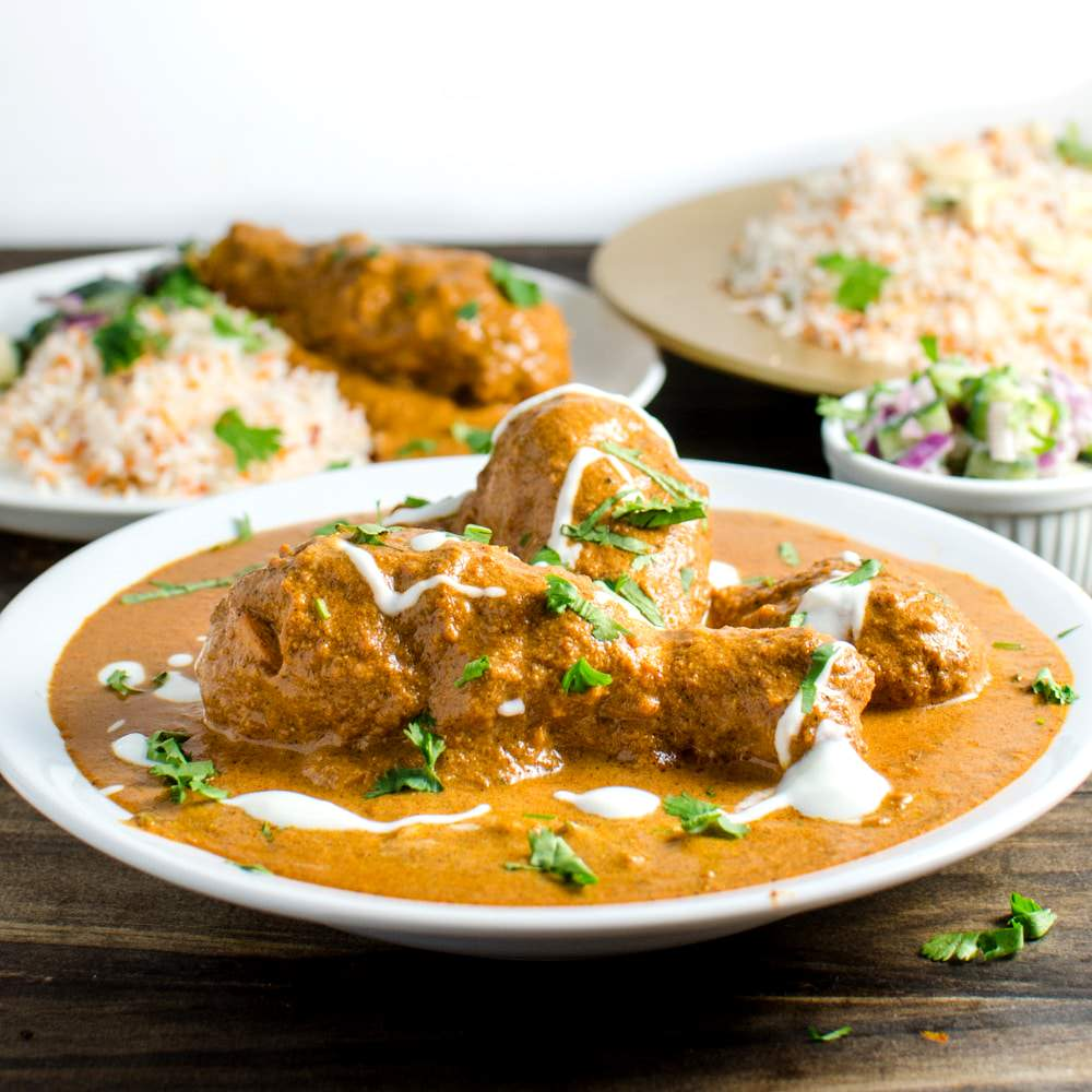 Kids butter chicken